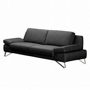 Sofa 3 Sitzer Günstig : sofa silvano 3 sitzer webstoff schwarz ohne kopfst tze loftscape g nstig ~ Bigdaddyawards.com Haus und Dekorationen