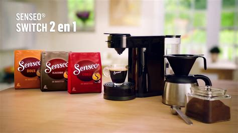 Cafetiere Senseo Switch Publicit 233 Nouvelle Machine Senseo 174 Switch 2 En 1
