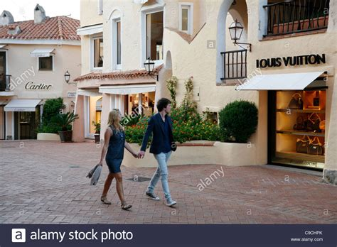 porto cervo shopping luxury boutiques in porto cervo costa smeralda sardinia