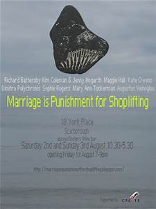 Marriage is Punishment for Shoplifting: Marriage is ...