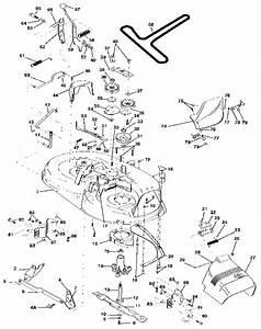 Craftsman Lawn Tractor 42 U0026quot  Mower Deck Parts