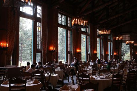 Ahwahnee Hotel Dining Room Menu by Dining In The Wilderness The Restaurants In America S
