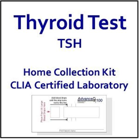home thyroid test tsh thyroid blood test at home blood test