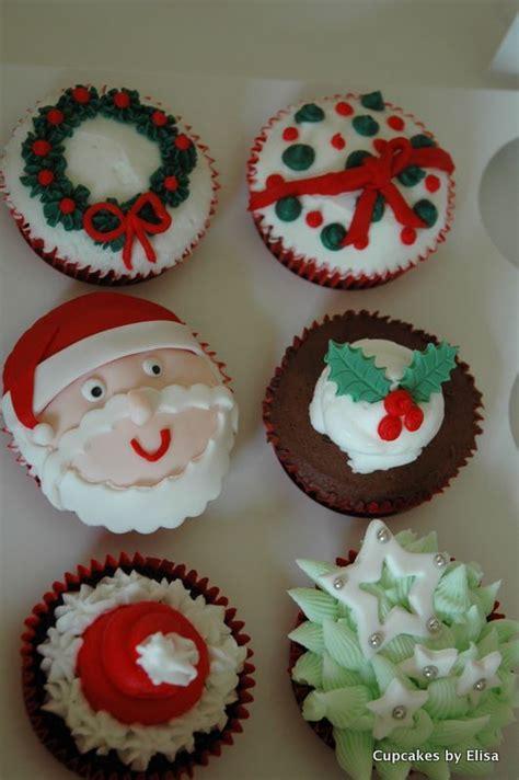 christmas cupcake ideas assorted christmas cupcakes cupcake ideas for you