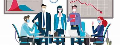 Covid Crisis Return Employees Pr Meeting Mask