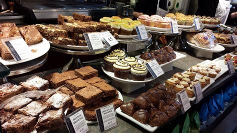 cafe cake display bakery cafe cafe food market