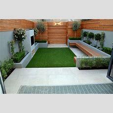 Contemporary Modern Small Garden Designer Anewgarden