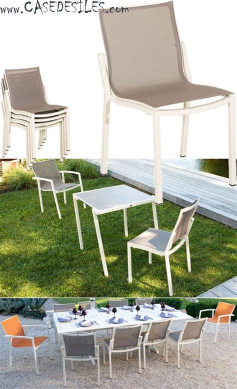 chaise de jardin empilable chaise de jardin aluminium chaise de jardin design