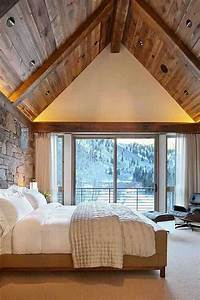 22, Inspiring, Rustic, Bedroom, Designs, For, This, Winter