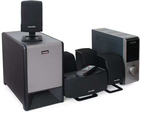 microlab 23 powerful 5 1 home theater speaker system