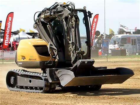 video mecalac multi purpose construction machine