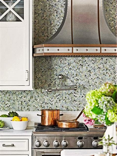 mosaic tile backsplash kitchen ideas a statement with a trendy mosaic tile for the kitchen