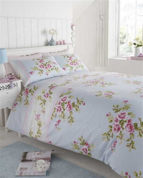 shabby chic single bedding floral bed linen in single double kingsize flowery bedding shabby chic ebay