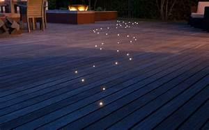 Eclairage Piscine Bois : clairage ext rieur led solaire et d coratif comme accent ~ Edinachiropracticcenter.com Idées de Décoration