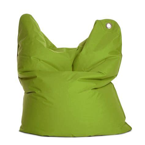 medium bull green bean bag chair by sitting bull