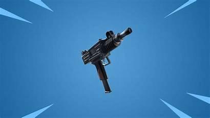 Fortnite Pistol Weapon Machine Weapons Uzi Coming
