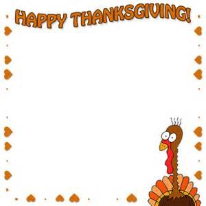 free thanksgiving borders happy thanksgiving border clip