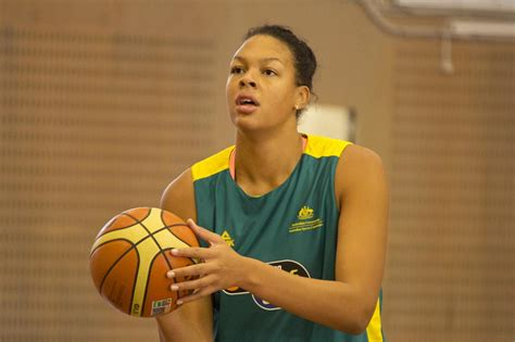 An australian professional basketball player elizabeth liz cambage is professionally known as liz cambage. WNBA Player Liz Cambage Discusses Her Battle with Mental ...
