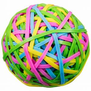 Elastic Band Ball - Stationery - B&M Balls and Bands