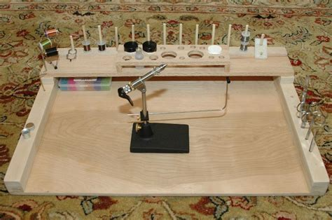 fly tying desk for sale diy fly tying bench how to make a gun cabinet from wood
