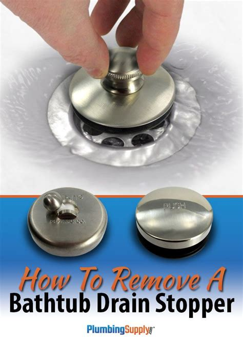 how to replace a tub drain stopper 17 best images about do it yourself on toilets