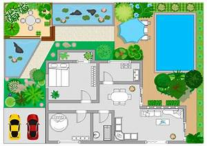 Free printable floor plan templates download for Visio garden template