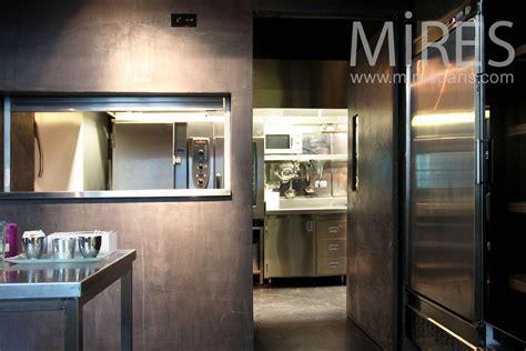 bureau mezzanine cuisine métal passe plat c0962 mires