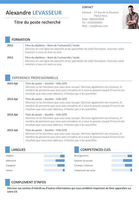 Modele Curriculum by Cv Gratuit Communication