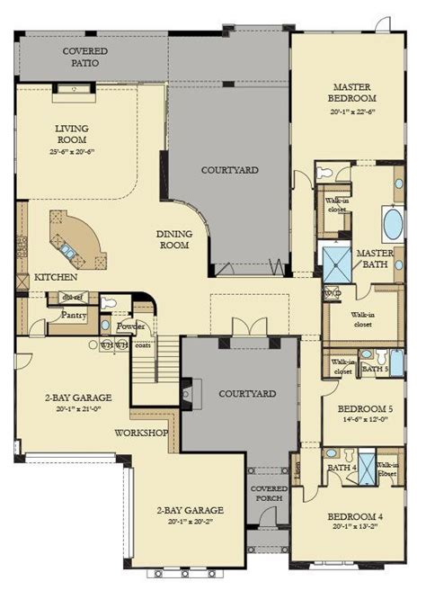 residence   home plan  southern highlands olympia