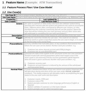7 use case templates free ppt excel doc example formats With use case narrative template doc