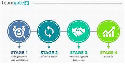 Process Sales Management Stages Stage Main Teamgate