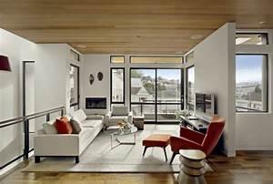 Wohnzimmer Einrichten Brauntöne : wohnzimmer modern einrichten 52 tolle bilder und ideen ~ Watch28wear.com Haus und Dekorationen
