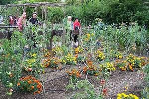 Plantes Amies Et Ennemies Au Potager : l 39 arche de la nature maison de la prairie le jardin ~ Melissatoandfro.com Idées de Décoration