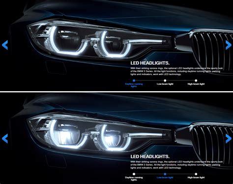 series lci halogen  led headlights compared