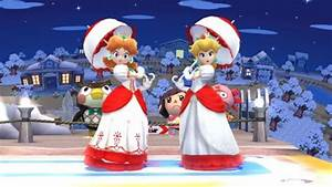 KTH Daisy Recolor Fire Daisy Super Smash Bros WiiU