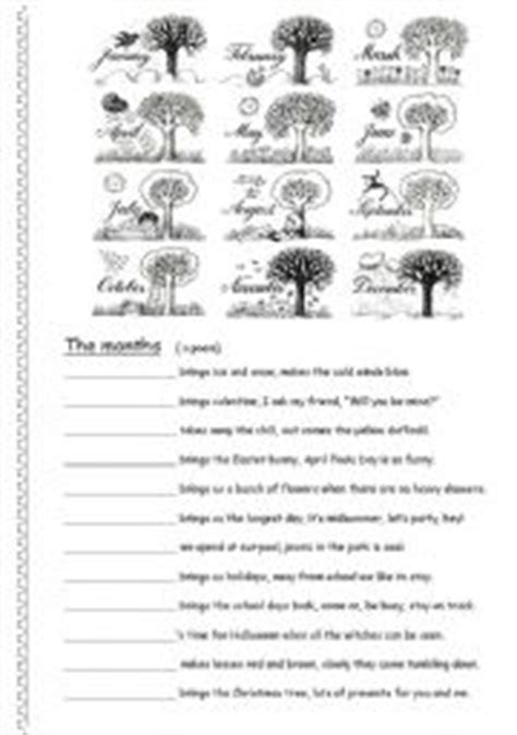 english teaching worksheets months of the year