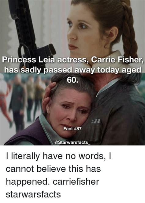 Carrie Fisher Memes - 25 best memes about princess leia princess leia memes
