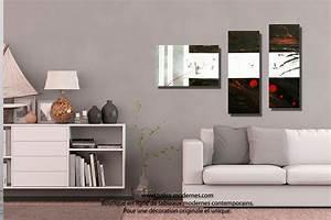 tableau dessin graphique noir blanc triptyque abstrait With couleur moderne pour salon 9 tableau panoramique noir blanc design grand format