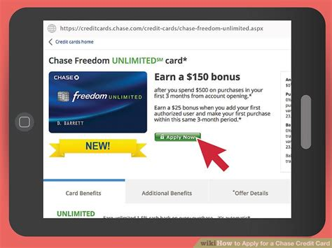 You might not like what you learn when you check your credit card application status. How to Apply for a Chase Credit Card: 11 Steps (with Pictures)