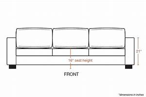 sofa seat height cm sofa review With sectional sofa height