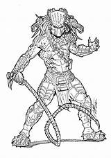 Predator Coloring Pages Alien Wolf Vs Deviantart Ronniesolano Mask Masked Avp Commission Xenomorph Aliens Desenhos Tattoo Sketches Depredador Printable Draw sketch template
