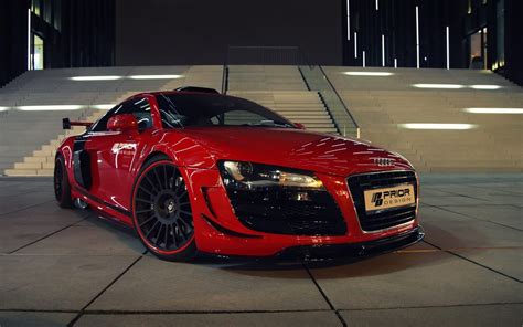 Audi R8 Red Car Hd Wallpaper