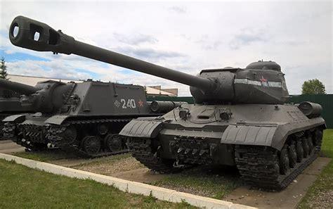 Preserved Is-2 Joseph Stalin Ww2 122mm Heavy Tank In