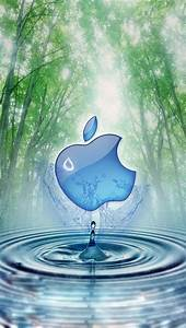 Apple and Water Tree iphone 5 wallpapers downloads ...