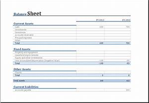 Personal Bookkeeping Excel Template Balance Sheet Template Excel Microsoft Spreadsheet