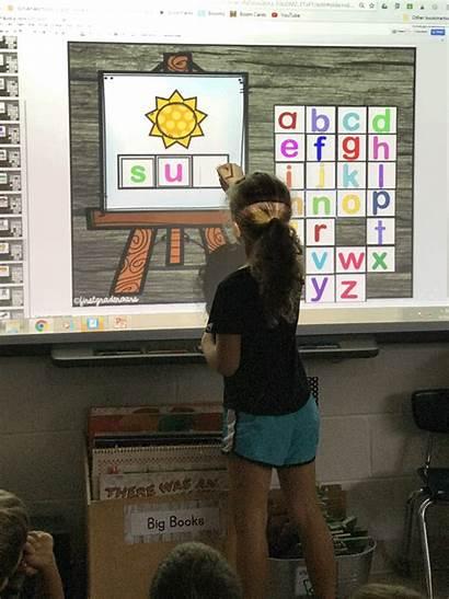Classroom Smart Board Google Kindergarten Reading Word