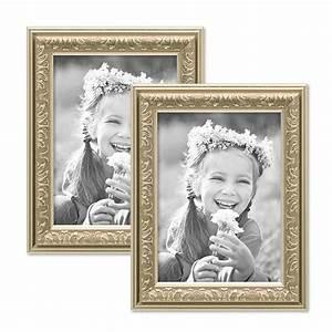 Bilderrahmen 13x18 Silber : 2er set bilderrahmen antik silber nostalgie 13x18 cm fotorahmen mit glasscheibe kunststoff ~ Frokenaadalensverden.com Haus und Dekorationen