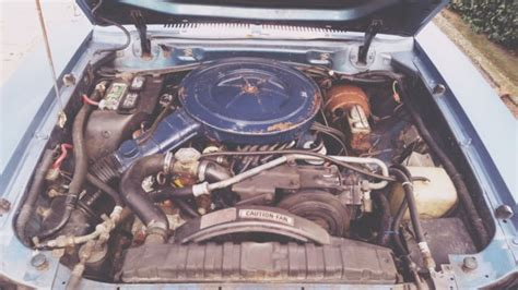 rare  mustang ii cobra   engine automatic
