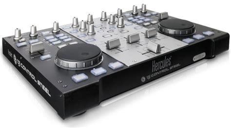 Hercules Introduces Dj Control Steel Mixing Deck