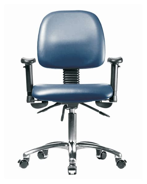 fisherbrand low form vinyl chair with chrome base desk